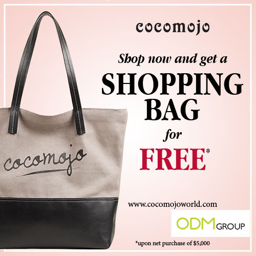 Gift with Purchase Promos: Shopping Bag by Cocomojo - The ODM Group