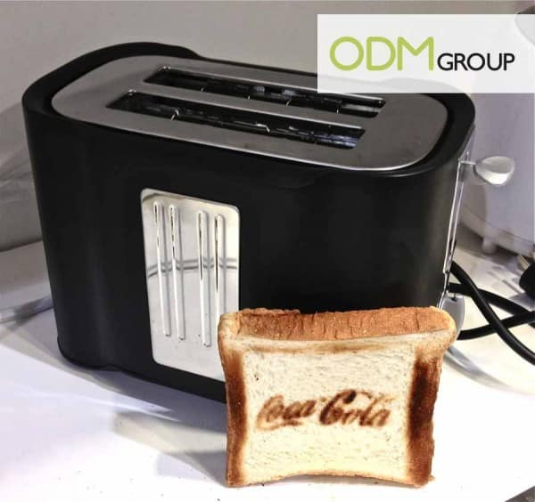 Branded Toasting Machine copie 600x564 Christmas Promo Gift Idea   Logo Toaster
