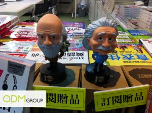 Scientists 300x224 Bobblehead Dolls Promo Gift With Subscription