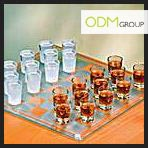 Shot Glass Chess Set Shot glasses Promo Gift idea