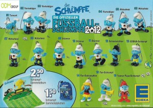 Edeka Promotion German Football Smurfs 300x212 Edeka Promotion   German Football Smurfs