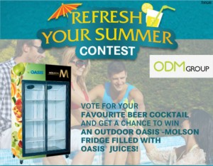 Free Fridge by Oasis and Molson Canada 300x233 Free Fridge by Oasis and Molson Canada