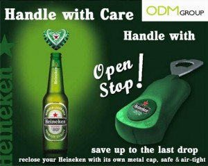 Heineken opener with logo 300x239 Heineken opener with logo