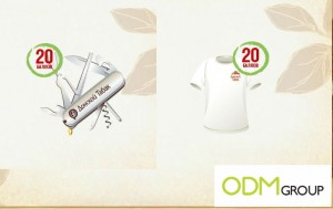 Promotional T shirt 300x189 Promotional T shirt & Swiss Army Knife