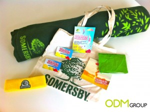 Somersby goodie bag with logo for blog1 300x224 Somersby goodie bag with logo