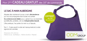 EDITED FR1209 kdo 03 300x144 Promotional Products France   Bag by Yves Rocher