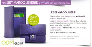 EDITED FR1209 kdo 04 300x154 Promotional Products France   Wallet and Cardholder by Yves Rocher