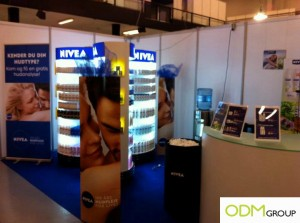 Nivea1 300x223 Nivea POS Displays