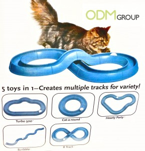 Promotional Gifts for Pets Playing Track 289x300 Promotional Gifts for Pets   Playing Track