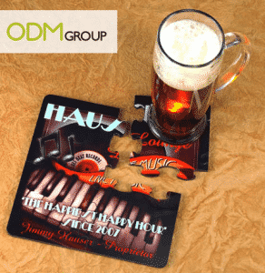 Custom Promo - Using Puzzle Coaster to Communicate Brand Image