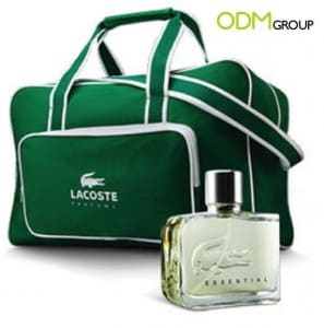Lacoste Offers Stylish Gym Bag as Promo Gift!
