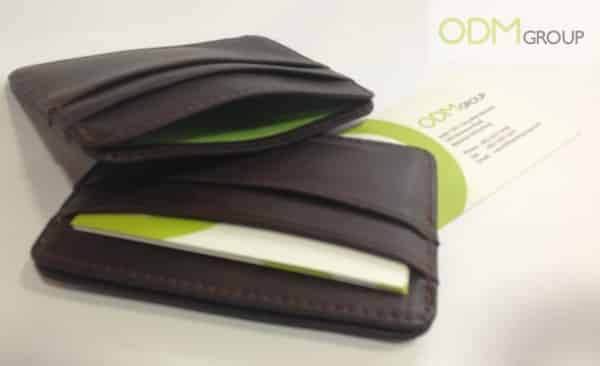Special Offer on Marketing Merchandise – Leather High End Cardholders