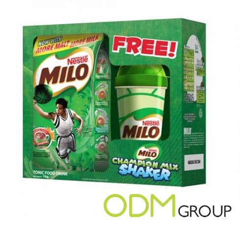 Milo attract kids with...