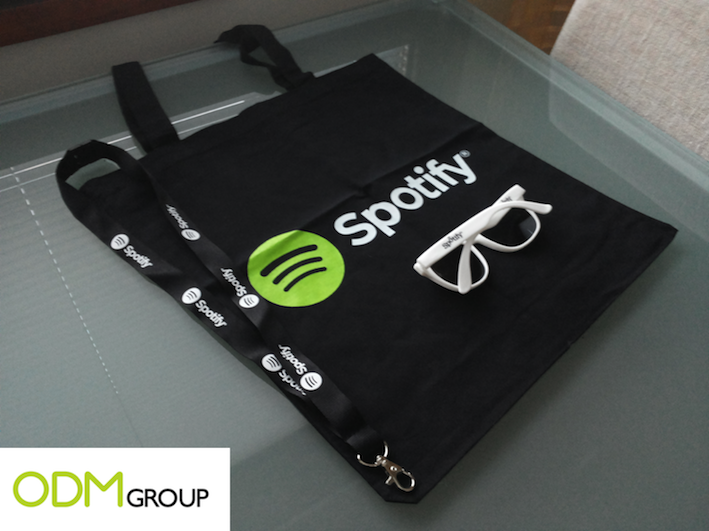 Goodies by Spotify: a good way to reward the users.