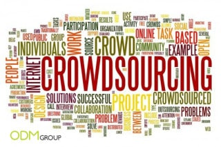 crowdsoursing 320x213 Get new marketing ideas using crowdsourcing technology