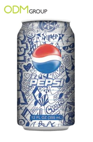 New design of Pepsi can. Result of crowdsourcing