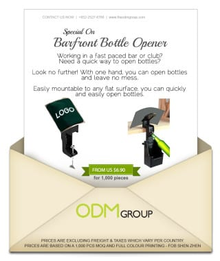 Special Offer Promo - Barfront Bottle Opener