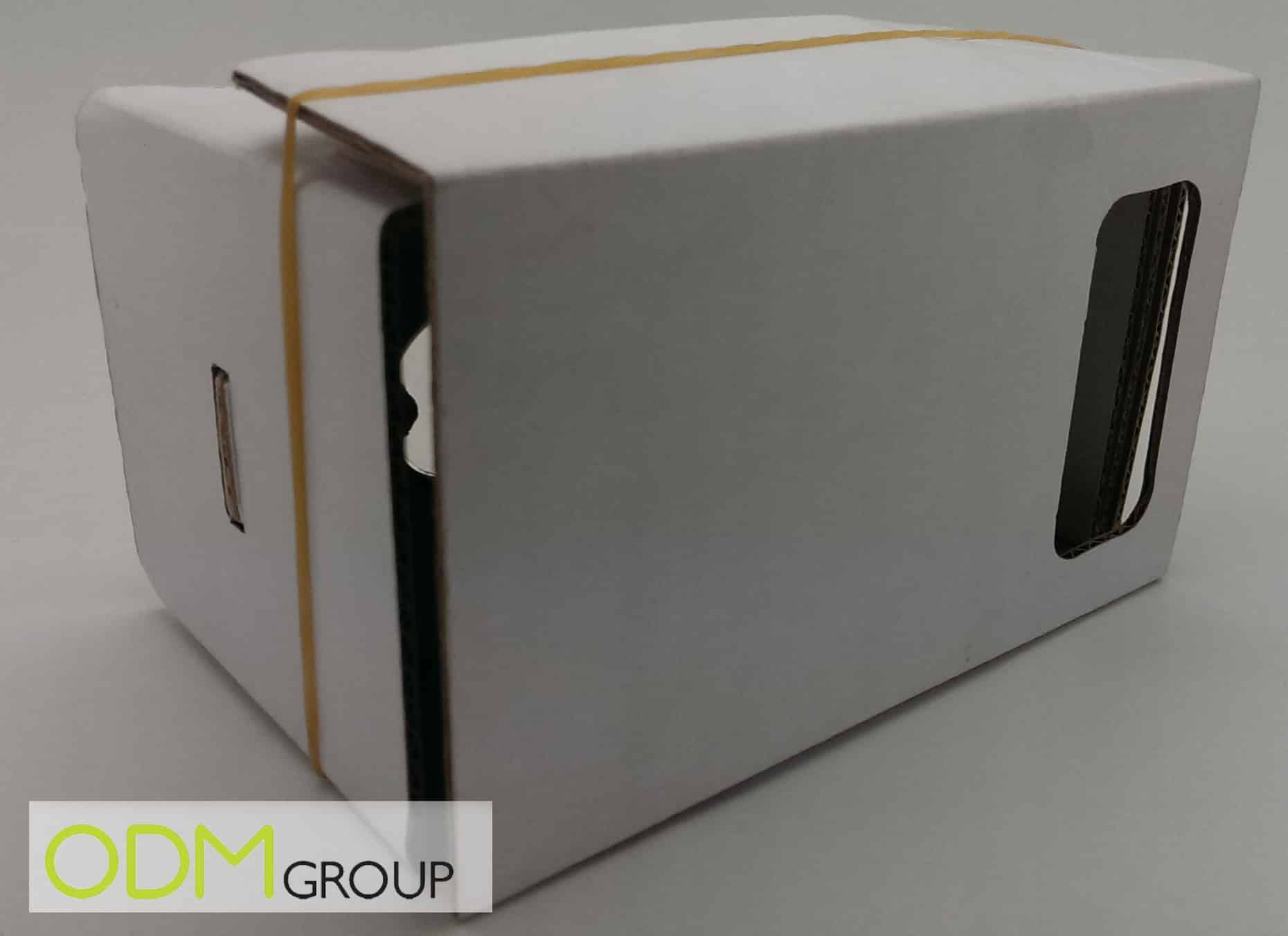 Customisable Google Cardboard has huge branding potential