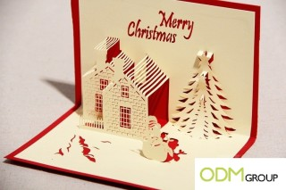 Promotional Christmas decorations giveaway