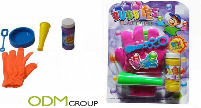 Blow the competition away with this fun toy promotion for children