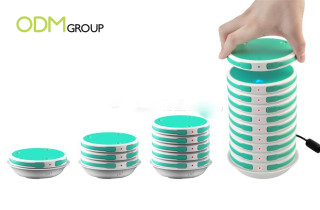 Expose Your Brand With This Stackable Power Station