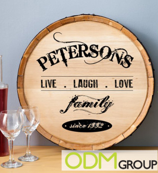 Barrel Display for Marketing Drinks 4
