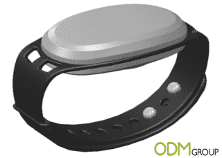 Branded Counting Silicone Wristband