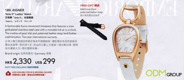 Marketing Gifts Drive Sales for Watches