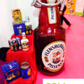 Inflatable beer bottle - Food Promotion HOFEX