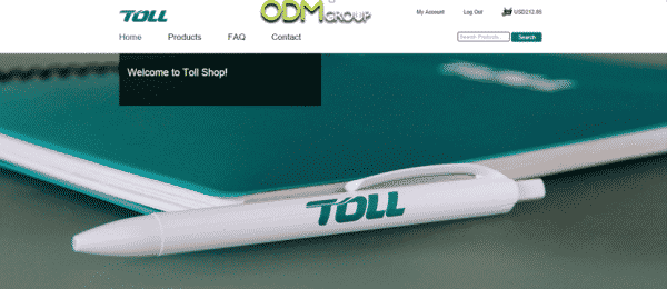 Toll website