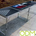 Unique Promotional Ideas- Branded Beer pong table