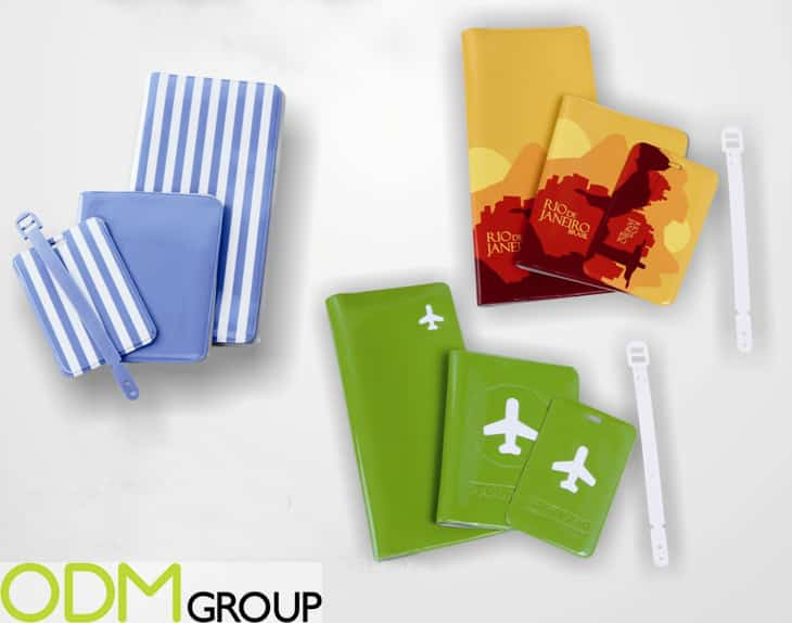 Branded Travel Accessories: Passport Covers & Luggage Tags