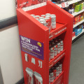 Advertising Display: Win a Budweiser Football Kit