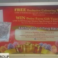 Easter Promotion - Free Gift and Chances to Win Egg Contests