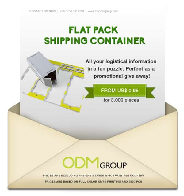 EVA Foam Mini Shipping Containers Special Offer