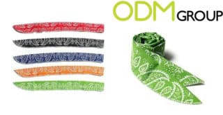 Summer promotional gift – Cooling Neck Wraps