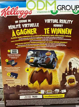 Halloween Promotion - Printed VR Glasses by Kellogg's