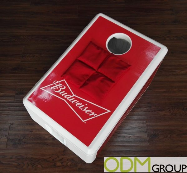 Promotional Bean Bag Toss Cooler Game