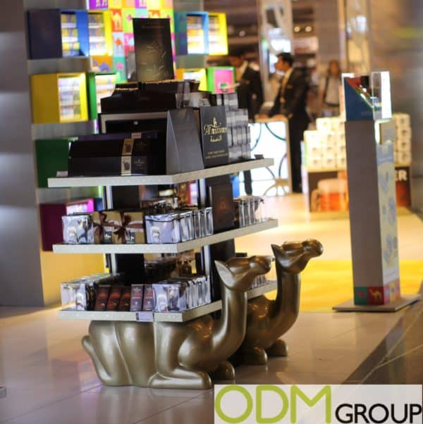 Qatar Duty Free: Custom POS Display by Al Nassma