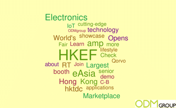 HK Electronics Fair Report #HKEF #eAsia