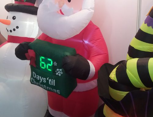 Promo Idea: Inflatable Display with Countdown