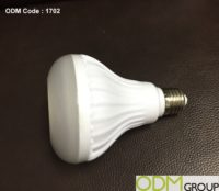 Smart Promo – Bluetooth LED Light Bulb with Speaker