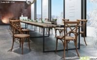 Custom Furniture for Events - High Quality Wooden Chairs