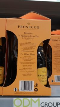 Prosecco Wine Promotion – GWP Glass Flutes