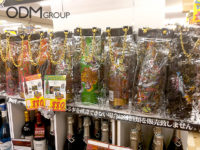 Bling Custom Ice Bags for classy Champaign Bottles