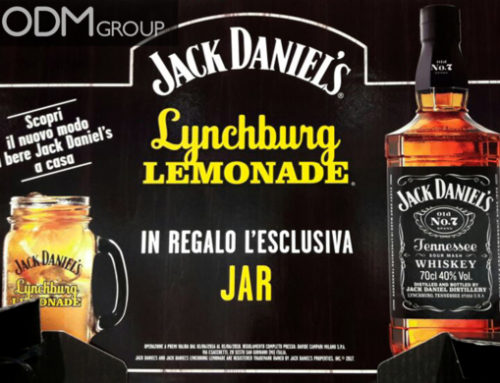 Branded Jar – Jack Daniel's GWP Idea for Drink Industry