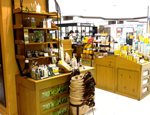 Custom Shopping Baskets by L'Occitane for Instore Marketing
