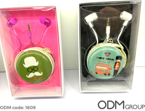 Earphones with Branded Pouch – Creative Promotional Product