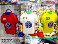 Brand New World Cup Items in Football Shirt Shapes 1