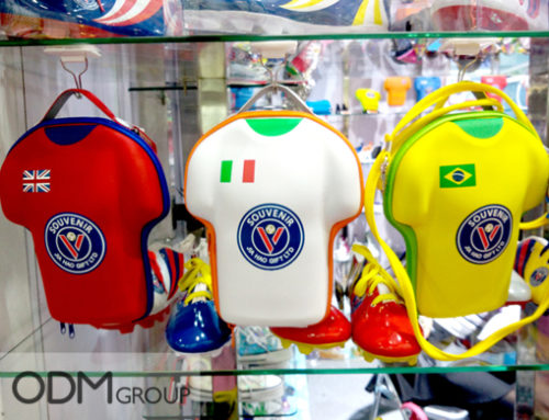 Brand New World Cup Bags in Football Shirt Shapes